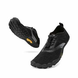 ALEADER hiitave Wide Toe Box Mens Trail Running Shoes Five F