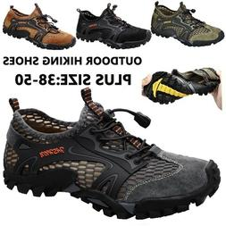 Hiking Shoes for Men Running Quick-dry Lightweight Athletic