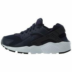 Nike Huarache Run Big Kids 654275-407 Obsidian White Running