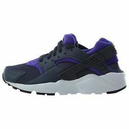 Nike Huarache Run Big Kids 654280-409 Thunder Blue White Run