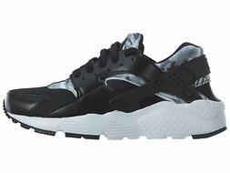 Nike Huarache Run Print Big Kids 704943-006 Black Running Sh