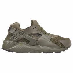 Nike Huarache Run SE  Running Kids Womens Shoes Khaki Green