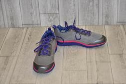 **Saucony Ideal Running Shoe - Big Girls Size 5W, Grey