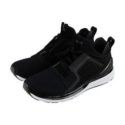 9a7a6e46fde2 Puma Ignite Limitless Weave Mens Black Nylon Athletic Runnin