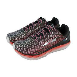 Altra IQ Womens Black Synthetic Athletic Lace Up Running Sho
