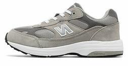 New Balance Kid's 993v1 Big Kids Unisex Shoes Grey with Whit