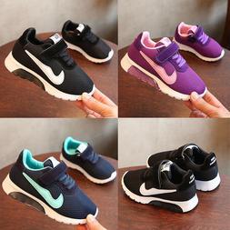 Kids Boys Girl Shoe Children School Running Sneaker Sport Tr