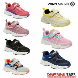 DREAM PAIRS Kids Boys Girls Sneakers Running Shoes Outdoor A