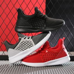 Kids Boys Tennis Shoes Running Walking Sneakers Breathable A