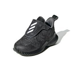 Adidas Kids' FortaRun AC Running Shoes Grey Black White EF96