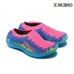 ONEMIX Kids Light Up Sneaker Children Breathable Luminous Ou