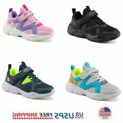 Kids Sneakers Boys Girls Running Shoes Lightweight Breathabl
