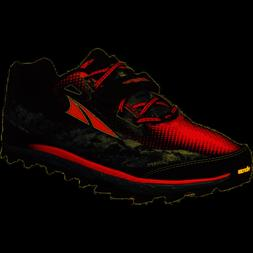 ALTRA KING MT MEN'S RUNNING SHOES - BLACK / RED