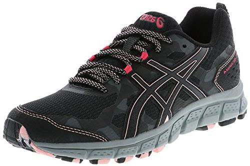ASICS 1012A039 Women's Gel Scram 4 Running Shoe, BlackDark