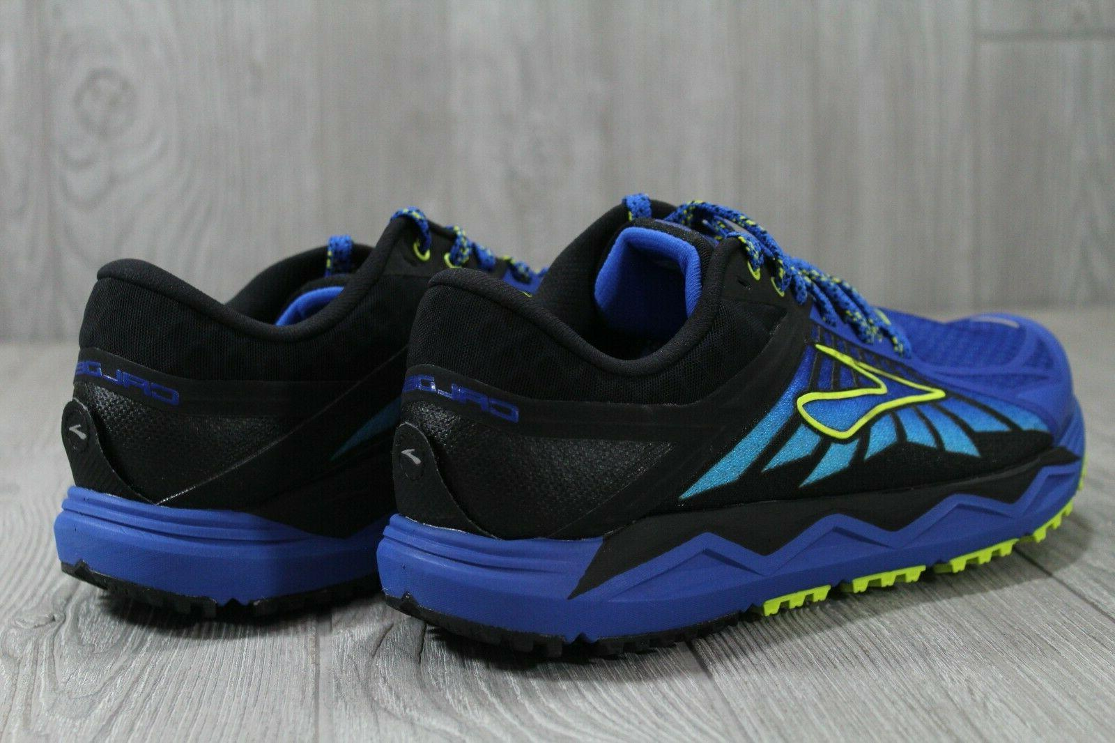 38 2 Trail Blue Running Shoes Men's Size 8.5 9 110272-429