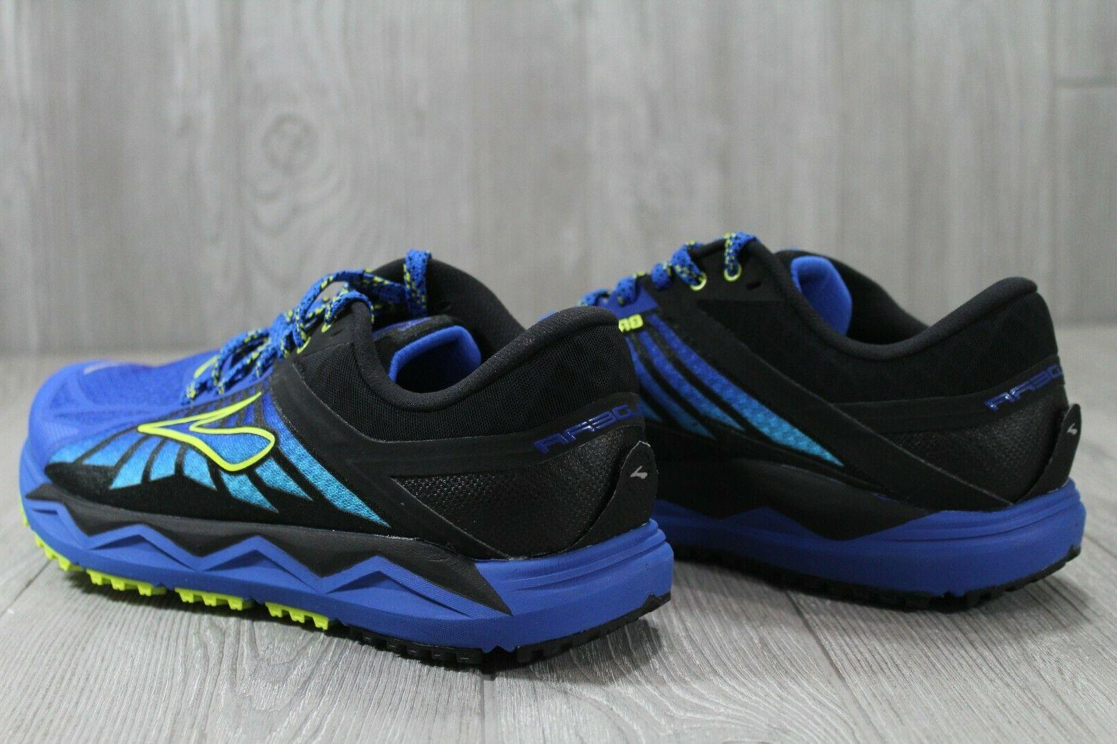 38 New Brooks 2 Trail Blue Running Shoes Men's 9
