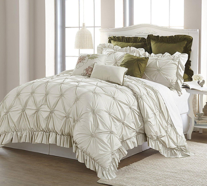 8 Piece Comforter Set Bedding Soft Luxury Over Sized Carolin
