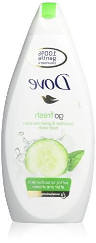 Dove Go Fresh Cool Moisture Fresh Touch Body Wash Cucumber a