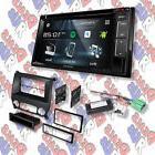 Kenwood Double-DIN CD/DVD Player Bluetooth XM Radio  Install