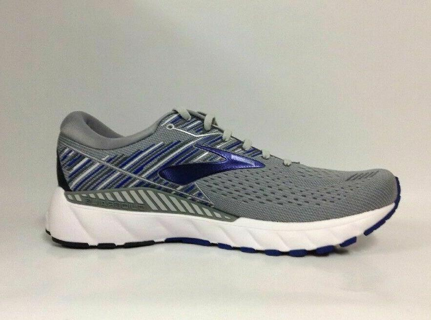 Brooks Adrenaline GTS Running. Grey/Blue/Ebony