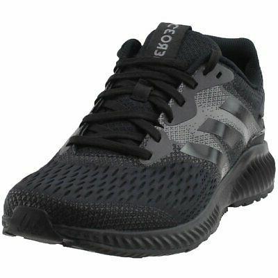 aerobounce running shoes black mens