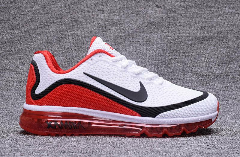 NIKE Men's Trainers White/Red New