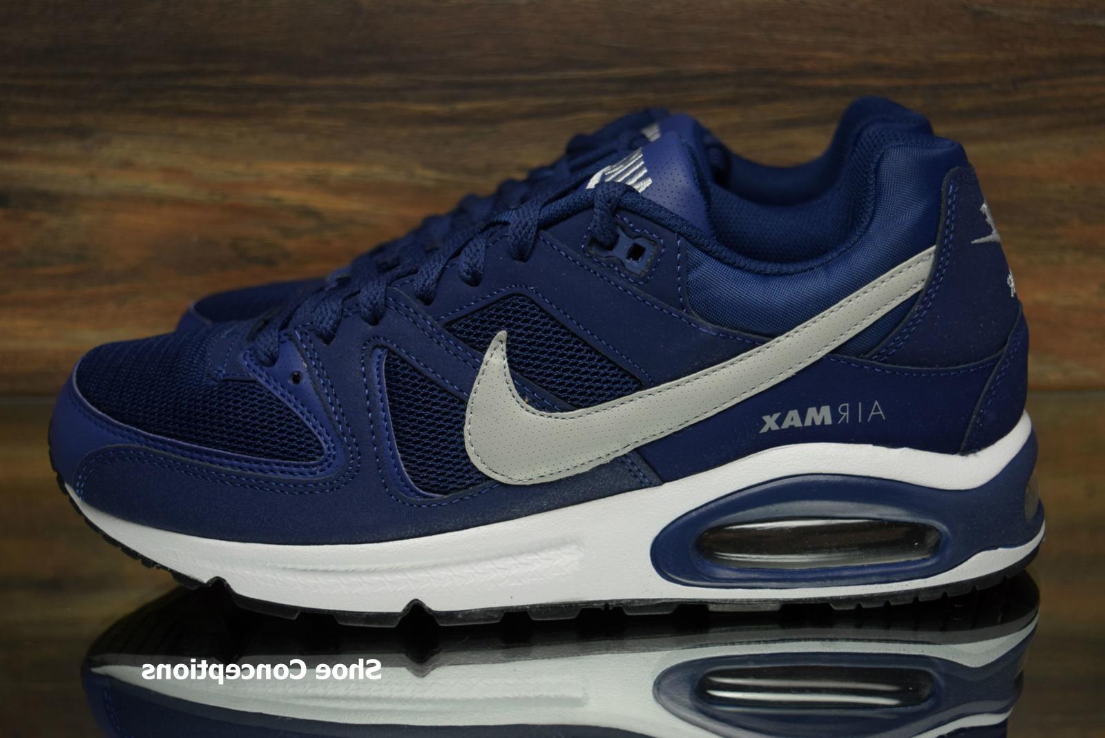 Nike Blue White Running Shoes Men's Size