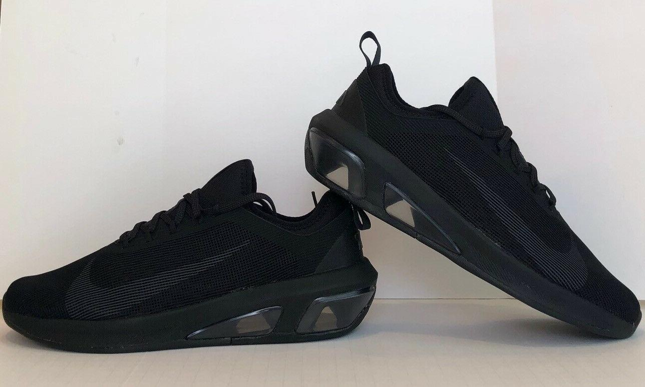 air max fly triple black running shoes
