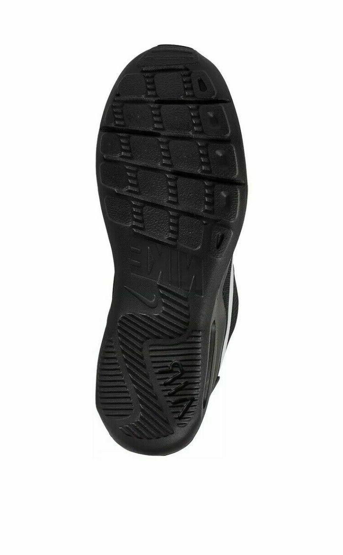 Nike Air Max Running Shoes Black White Silver AQ2235-010 Men's NEW