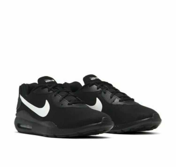 air max oketo running shoes black white