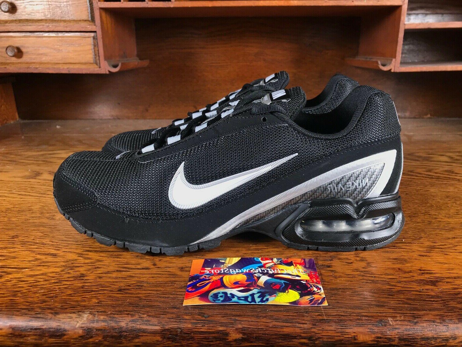 Nike 3 Mens Running Shoes Black/White