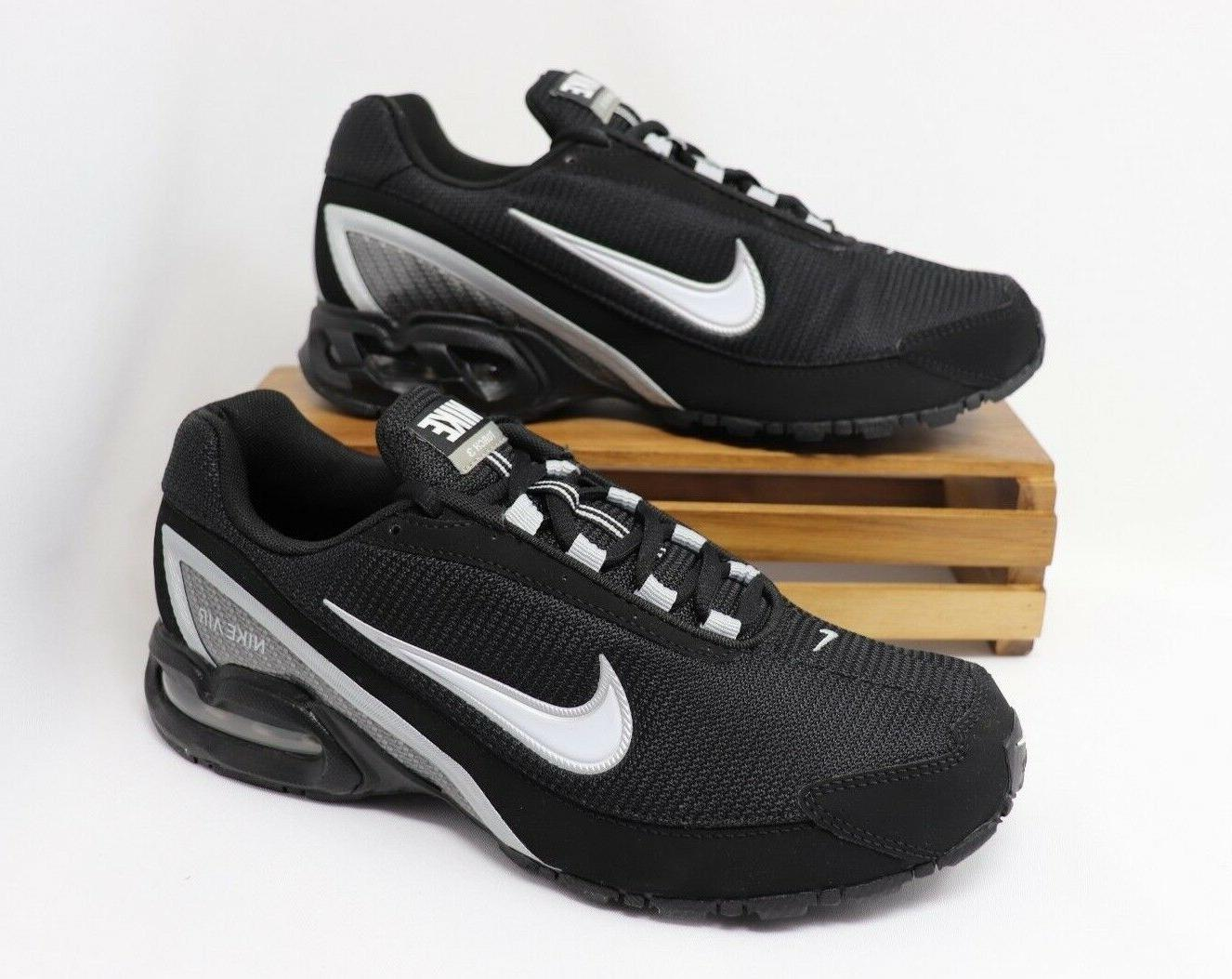 Nike Air Max Torch 3 Running Shoes Black White Silver 319116