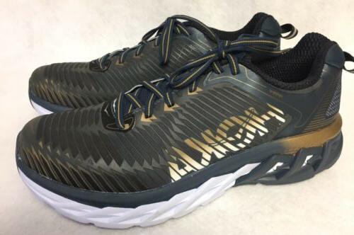 HOKA ONE ONE Arahi Mens Tennis running shoes Midnight Navy M