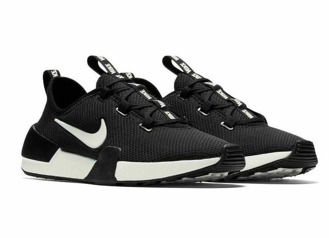 ashin modern running shoes white black aj8799