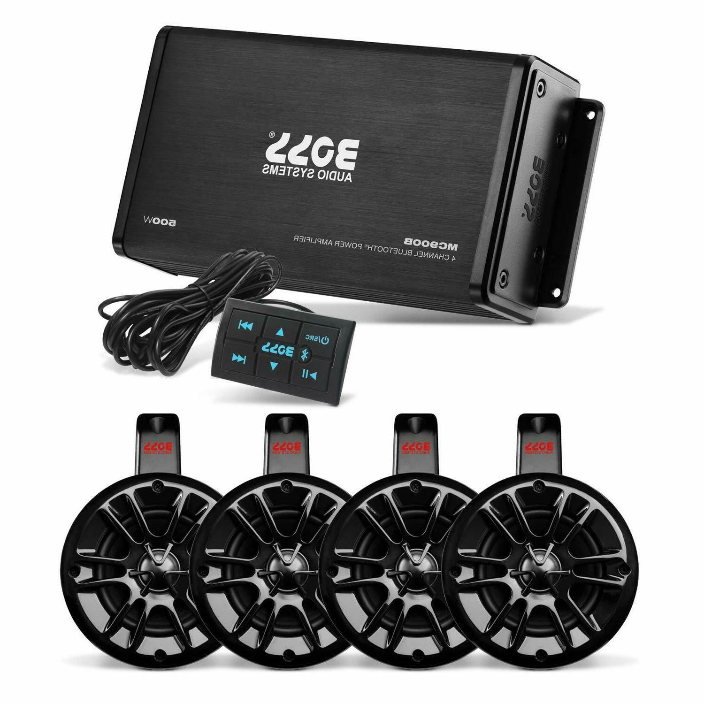 Boss Audio MRWT40PAK ATV/UTV Audio System Package Speakers B