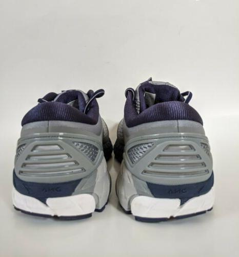Brooks Extra Wide Grey White Men Running Shoes 110282 Sz 4E