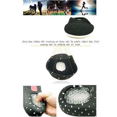 Black Gel Orthotic Sports Running Pad Cushion