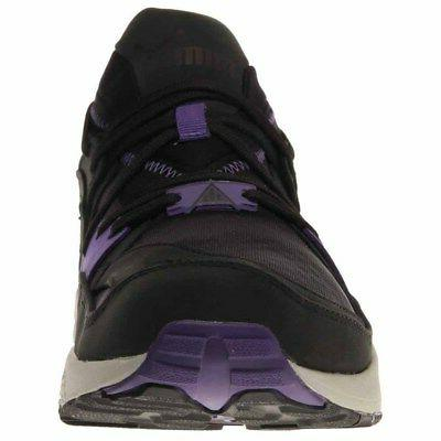 Puma Trinomic Crackle Casual Running Shoes Black - Mens - Size
