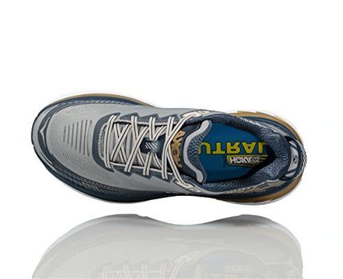 Hoka One Mens Bondi 5 Running Shoe, Cool Midnight Navy 11 D US