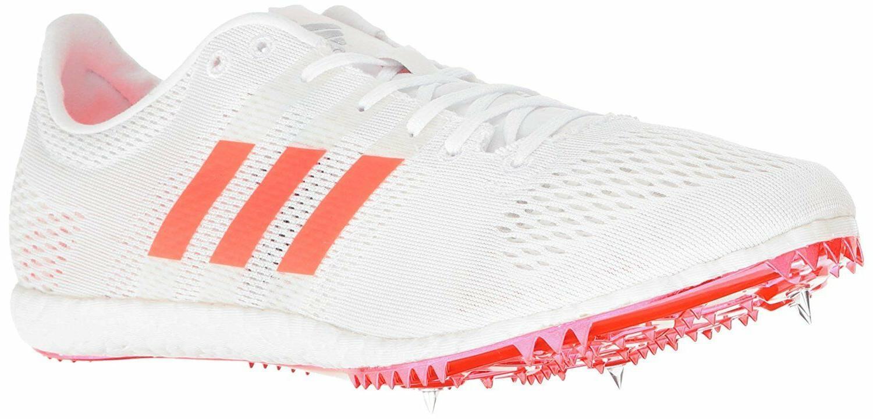 Adidas Boost Adizero Avanti Track Running Shoes Sprint White
