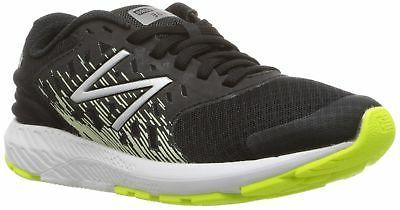 New Balance Boys' Urge V2 FuelCore Running Shoe Black 4 M US