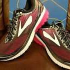 BRAND NEW IN BOX! BROOKS GHOST 10 WOMENS RUNNING SHOES BLACK