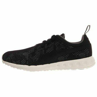 Puma Carson Runner Camo Mesh Shoes Black - Mens