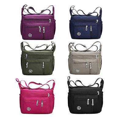 Casual Purses and Shoulder Handbags for Women Nylon Crossbod