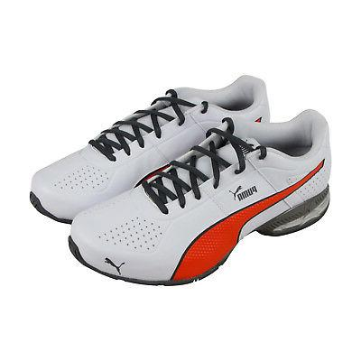 cell surin2 fm mens white leather athletic
