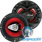 """BOSS CH6530 6.5"""" 150W 3-WAY COAXIAL CAR AUDIO 4-OHM RED SPEA"""