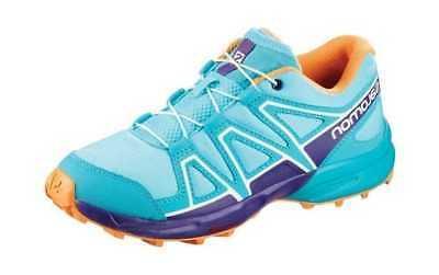 Salomon Children's Speedcross Trail Running Shoe Blue Curaca