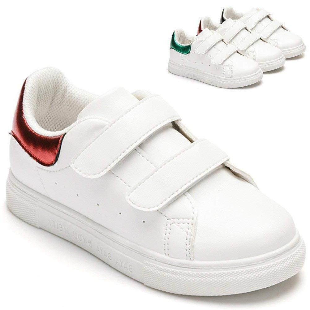 DADAWEN Boy's Girl's Sneakers Breathable Shoes