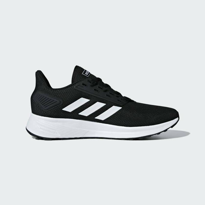 Adidas Duramo Running Shoes Black/White Size Nmd
