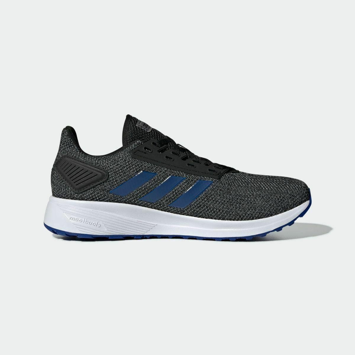 Adidas Duramo Black Blue Running Shoes Multi Sizes